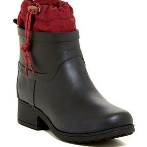 Lucky Brand Womens REBEKA Rubber Ankle Rainboots